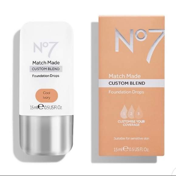 No7 Match Made Custom Blend Foundation Drops